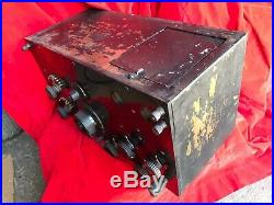 1920's Federal DX-TYPE 58 Vintage Excellent Rare 4 tube RADIO Good as it Gets