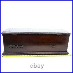 1924 Vtg Atwater Kent Model 20 Tube Radio Receiving Set Deluxe Cabinet No Tubes