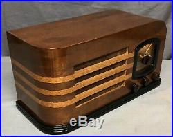 1930's Mission Bell Vintage Vacuum Tube Radio