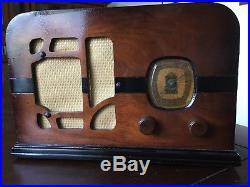 1937 Delco R1125 Restored Vintage Radio