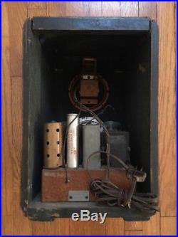 1938 Zenith AM Radio Model 5S228 Working Needs TLC Help Repair Work 5-S-228 VTG