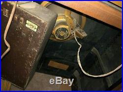 1939 Antique Vtg Art Deco Pre-WWII Zenith 10S464 AM/Shortwave Console Radio 5808