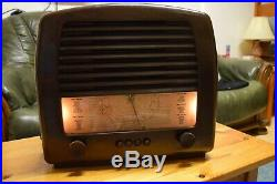 1940's Vintage GEC 9650 Valve Tube Radio Bakelite