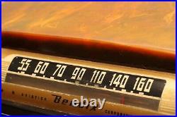 1940s Vintage Green Bendix 526C Catalin Radio No Cracks or Chips in Cabinet