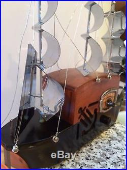 1941 Majestic Mastercrafters Melody Cruiser Ship Vintage Vacuum Tube Radio