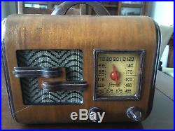 1947 General Television And Radio 2a5 Vintage Radio