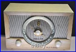 1949 Circa Vtg Antique Zenith High Fidelity AM/ FM Tube Radio Complete Working