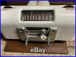 1950's VINTAGE DAHLBERG PILLOW SPEAKER COIN OP HOSPITAL RADIO MODEL 4130-S