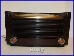 1950's Vintage Philco'Sun Dial' Bakelite Radio Model 50-922 Art Deco MidCentury