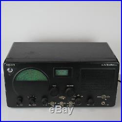 1953 Hallicrafters S-77A Shortwave Radio Receiver Vintage 50's Tube Radio