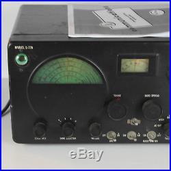 1953 Hallicrafters S-77A Shortwave Radio Receiver Vintage 50