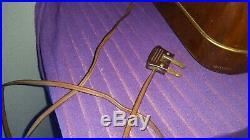 1954 Vintage GRUNDIG MAJESTIC 3045 W 3D Tube Table Top RADIO German Wood Case