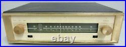1960 Sherwood S-2000 AM FM Tube Tuner Radio Vintage