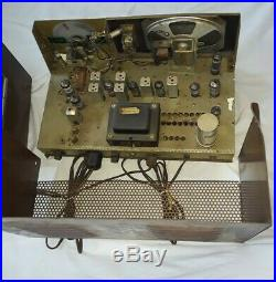 1960's Browning Eagle R27 & S23 CB Tube radio base station. VINTAGE