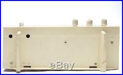 1960s Vintage Panasonic Model 720 AM/FM 2 Band Tube Clock Radio Japan /Tested
