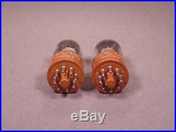 2 6SU7GTY TUNG-SOL Antique Radio Hi Fi Amplifier Vintage Vacuum Tubes 5632-3