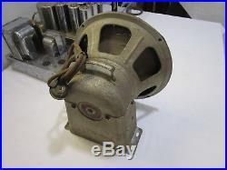 30's Vintage EH Scott Allwave 15 Radio Tuner Amp & Speaker for Restoration