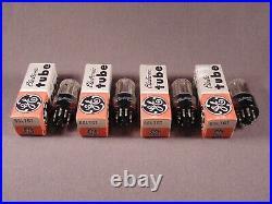 4 6SL7GT GE HiFi Ham Radio Amp Vintage Vacuum Tubes Matching Codes RY NOS