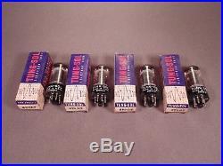4 6V6GT TUNG-SOL Antique Radio Hi Fi & Guitar Amp Vintage Vacuum Tubes 322RS-3