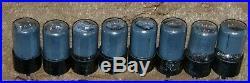 8 Piece Lot NOS RCA Victor 6SN7GT / 6SN7 / VT-231 B65 5692 ecc33 Vintage Tubes