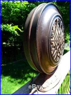 ART DECO antique SPEAKER 1920s UTAH radio speaker VINTAGE TUBE RADIO man cave