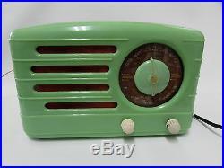 Awa Astor Green Bakelite Valve Tube Radio Art Deco Vintage Retro Working