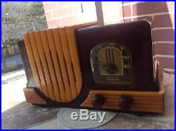 Addison R5A1 Catalin Vintage Radio Working