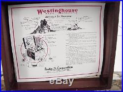 Aeriotron Type WD 11 Tube Radio Apparatus receiver 1922 Vintage Westinghouse