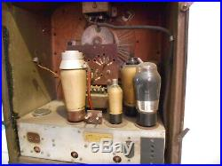 Altes Röhrenradio Tenor um 1935 Vintage Radio tubes Deko