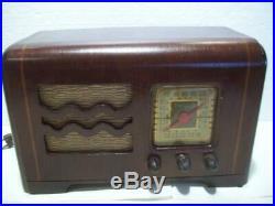 Antique 1939/40 PHILCO Model 40-115 6 Tube BC/PB Vtg RADIO