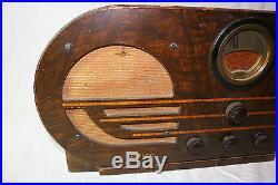 Antique Philco Vintage Tube Radio Model 38-10