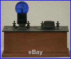 Antique Radio Marconi spark era tube Wireless set 1920's breadboard vintage rare