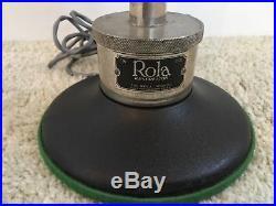 Antique Rare Vintage Rola Re-Creator Radio Horn 1920s With Driver