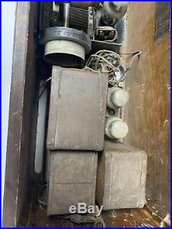 Antique/Vintage 1920s RCA RADIOLA 44 AR-594 Table Top Tube Radio Reciever TESTED
