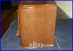 Antique Vintage 1940's Sonora RCU-208 Wood Case Tube Radio Seller refurbished