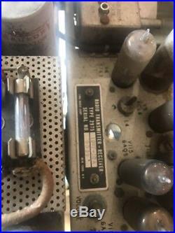 Antique Vintage Amateur Radio Transmitter vacuum tube ham LINK RADIO CORP 2975
