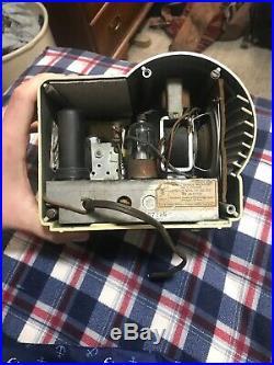 Antique Vintage Charlie McCarthy Model No 1 Bakelite Tube Radio by Majestic 1938