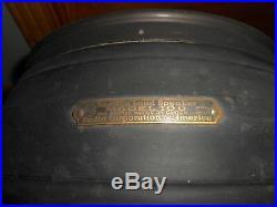Antique Vintage RCA RADIOLA MODEL 100 Exterior Radio LOUD Speaker Drum
