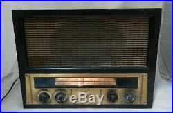 Antique Vintage Tube Working Sparton Radio