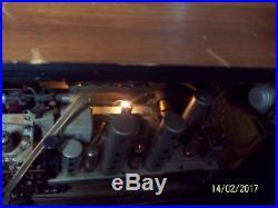 Antique/vintage Nordmende Sterling Tube Shortwave Radio Coriolan