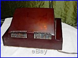 Antique/vintage Philco Bakelite Radio Fantastic Deco Transistor Model 52-548