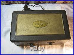 Atwater Kent Tube Radio 1920's Vintage Electronics Art Deco Era