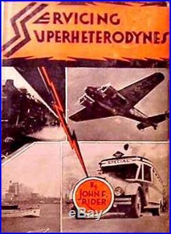 BOTTOM LINE for SERVICING your VINTAGE SUPERHETERODYNES
