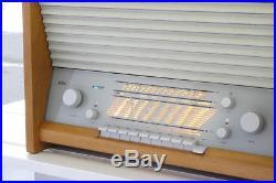 BRAUN G11-7 TISCHSUPER ^ Tube Radio ^ Dieter Rams, Gugelot ^ year 58` Vintage