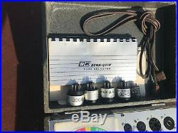 B&K Dyna-Quik 600 Vintage Tube Tester Guitar Amplifier Ham CB AM Radio TV