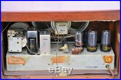 Beautiful VTG (1947) Westinghouse H-157 AM Tube Radio Receiver IT WORKS