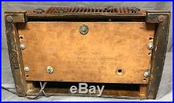 Beautiful, working 1942 Emerson Ingraham vintage vacuum tube radio