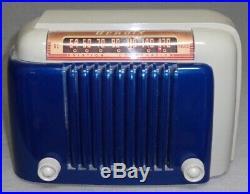 Bendix 1946 bakelite vintage vacuum tube radio