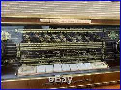 Brown Beauty Nordmende Fidelio 58 Schallkompressor tube radio vintage 1958