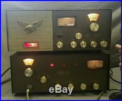 Clean Browning Golden Eagle Mark III Ssb Tube Radio Am/ssb Base Station Vintage